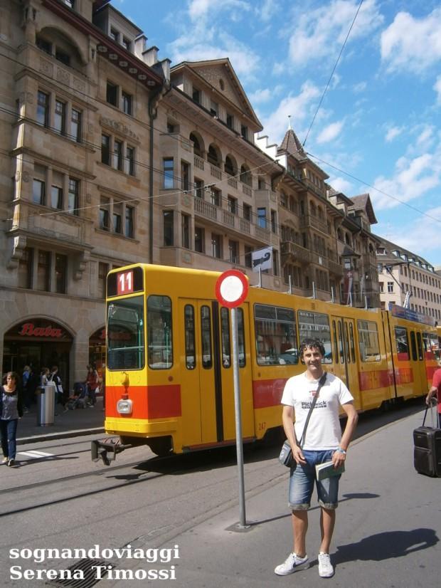 Tram centro storico Basilea