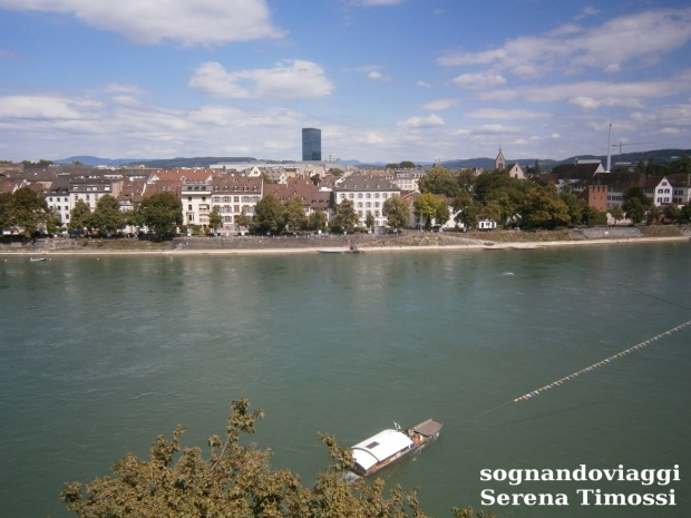 Basilea, panorama dalla cattedrale