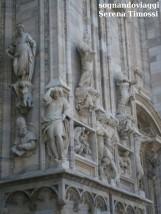 Duomo di Milano, dettaglio della facciata