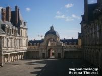 Castello di Fontainebleau, cortile