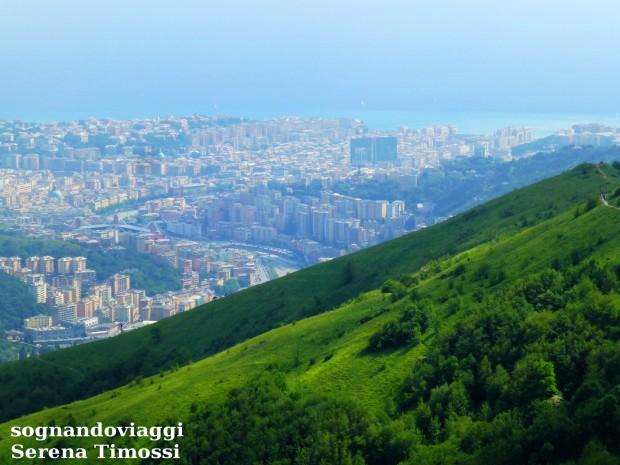 Panorama forti Genova
