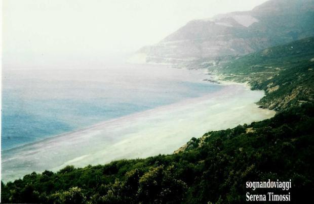 Spiaggia nera di Nonza