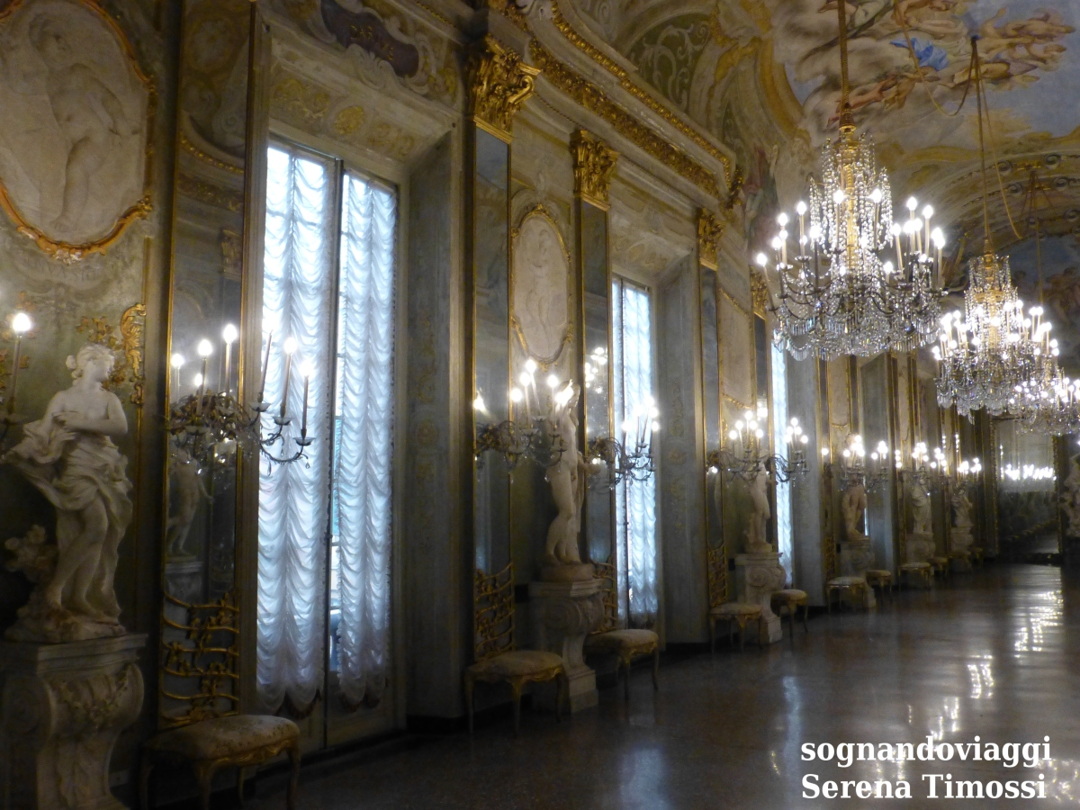 Palazzo Reale Genova Galleria specchi