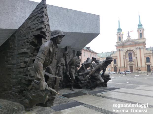 Monumento insurrezione Varsavia