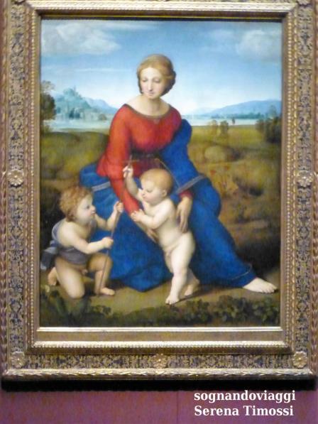 Raffaello Madonna del Belvedere