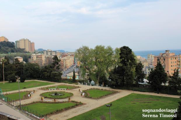 giardini villa duchessa di galliera