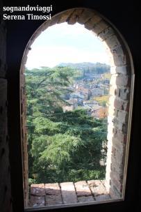 Scorcio di Castell'Arquato visto Rocca Viscontea