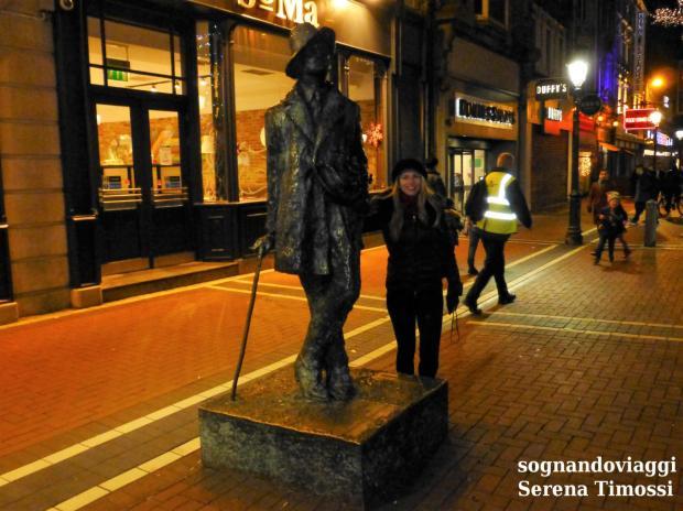 dublino statua joyce