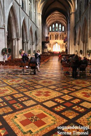 L'interno della Cattedrale di Saint Patrick