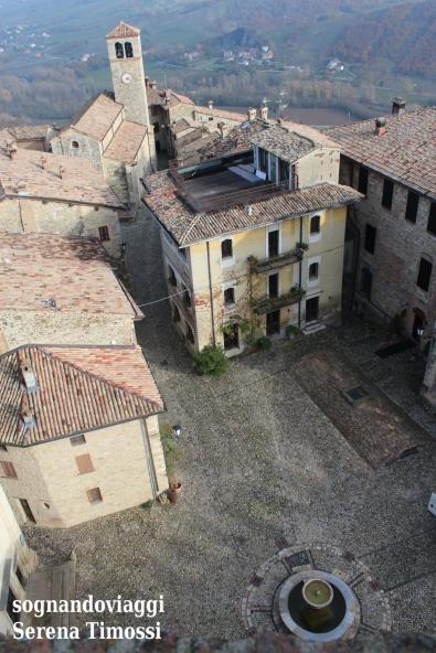 vigoleno panorama dal castello