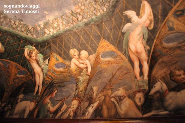 parmigianino affreschi fontanellato