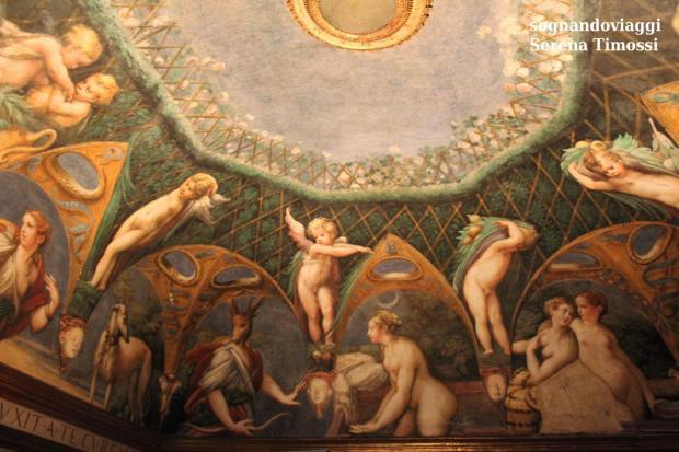 affreschi parmigianino fontanellato