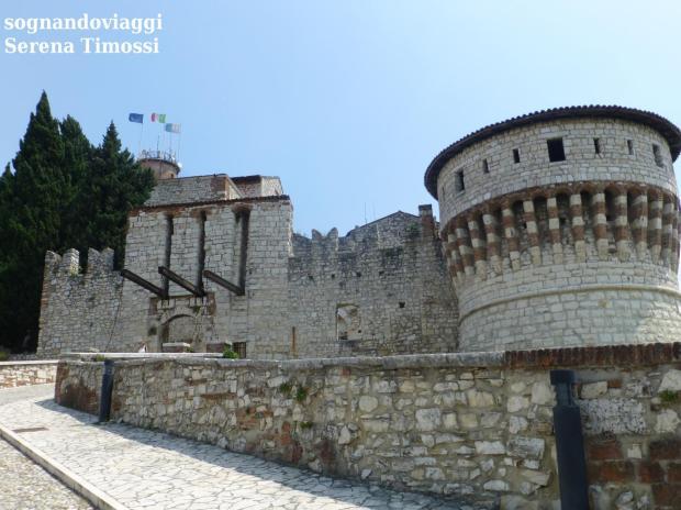 castello brescia ponte levatoio