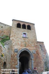 La porta d'ingresso a Civita di Bagnoregio