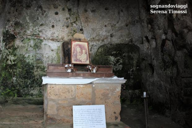 grotta della Madonna del Carcere