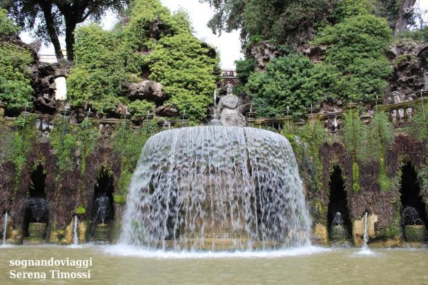 fontana dell'ovato villa d'este