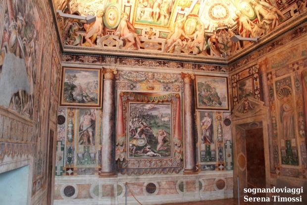 affreschi villa d'este