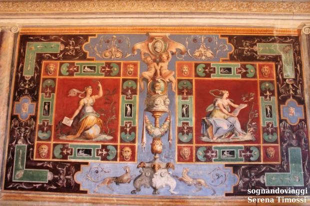 villa d'este tivoli affreschi
