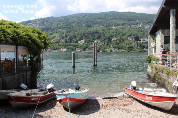 isola dei pescatori barche
