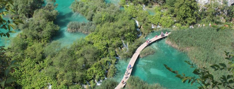 laghi di plitvice percorsi