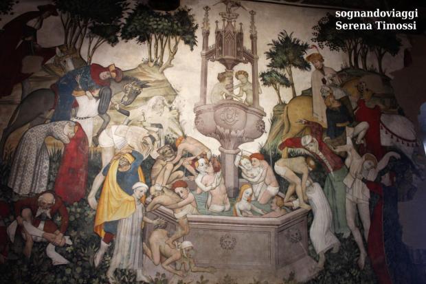 fontana della giovinezza castello della manta