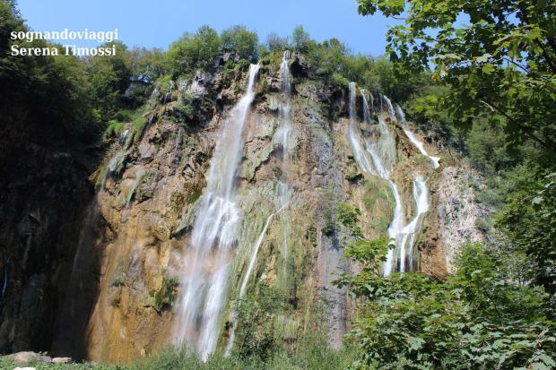 grande cascata plitvice