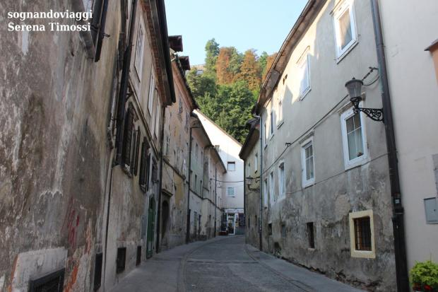 centro storico lubiana