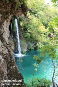 Una piccola cascata