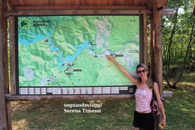 mappa laghi di plitvice