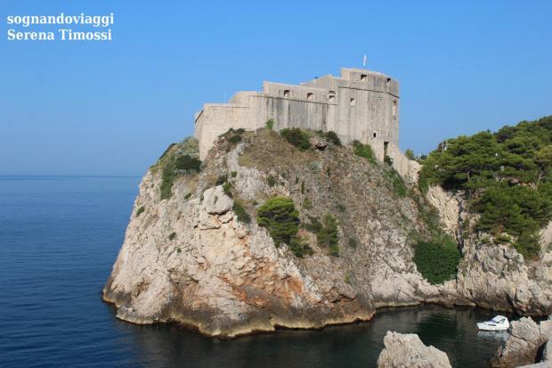 Fort Lovrijenac, la Fortezza Rossa del Trono di Spade
