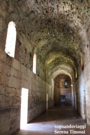 sotterranei palazzo di diocleziano