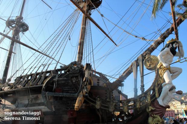 galeone pirati genova