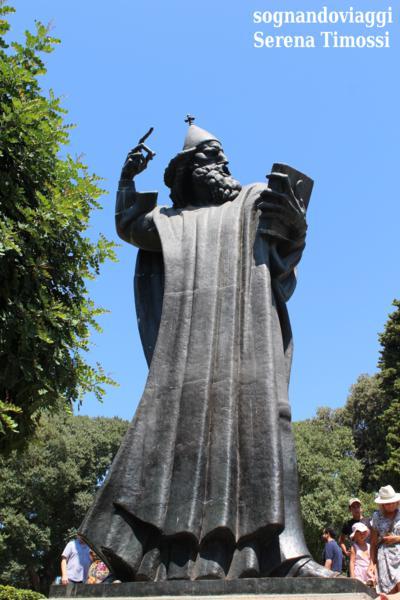 statua gregorio da nona spalato