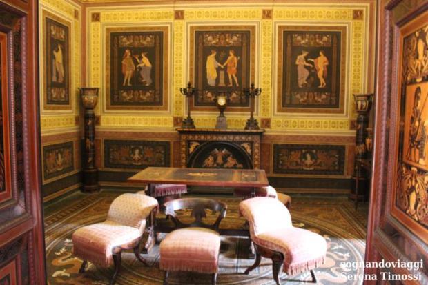 Gabinetto Etrusco Racconigi
