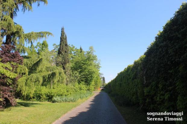 Parco giardino sigurtà percorso