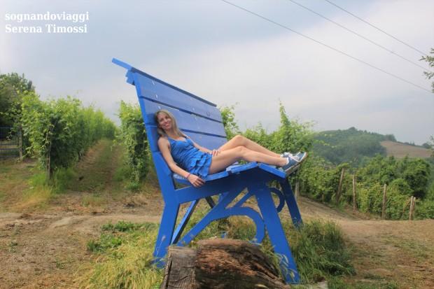 clavesana panchina blu