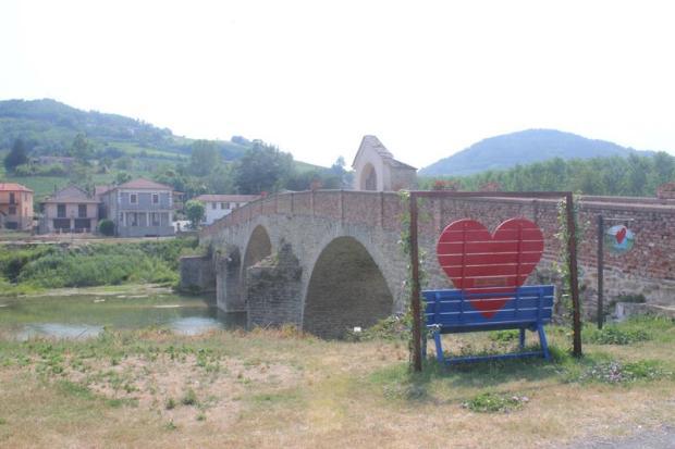 panchina del cuore monastero bormida