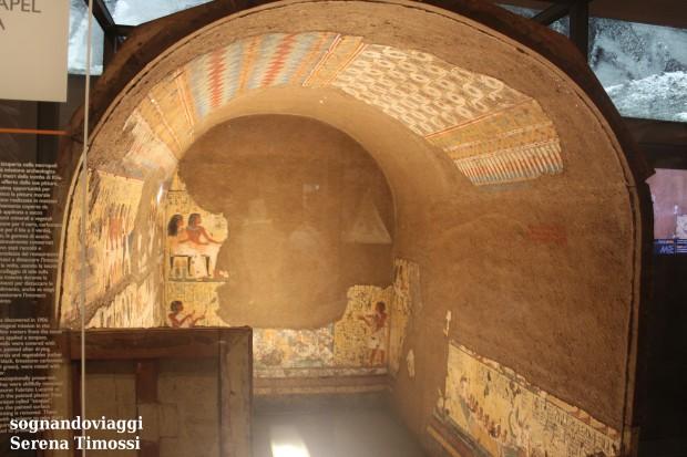 cappella di maya museo egizio