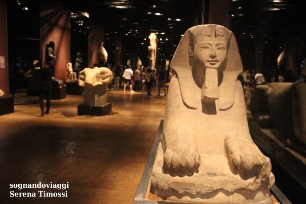 galleria dei re museo egizio torino