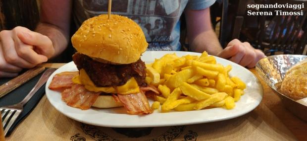 Hamburger Venta El Buscon
