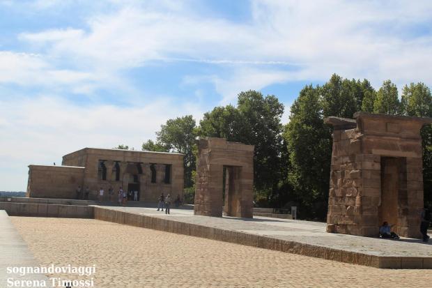 tempio egizio Madrid