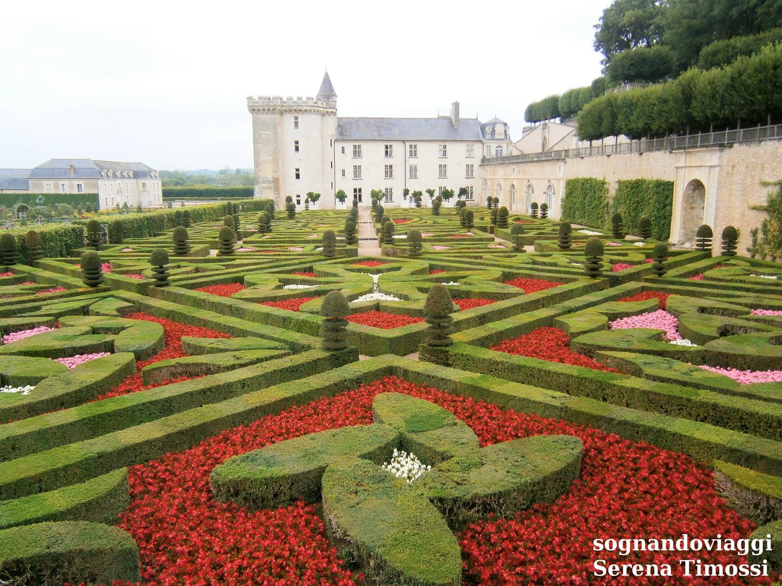 giardini castello villandry