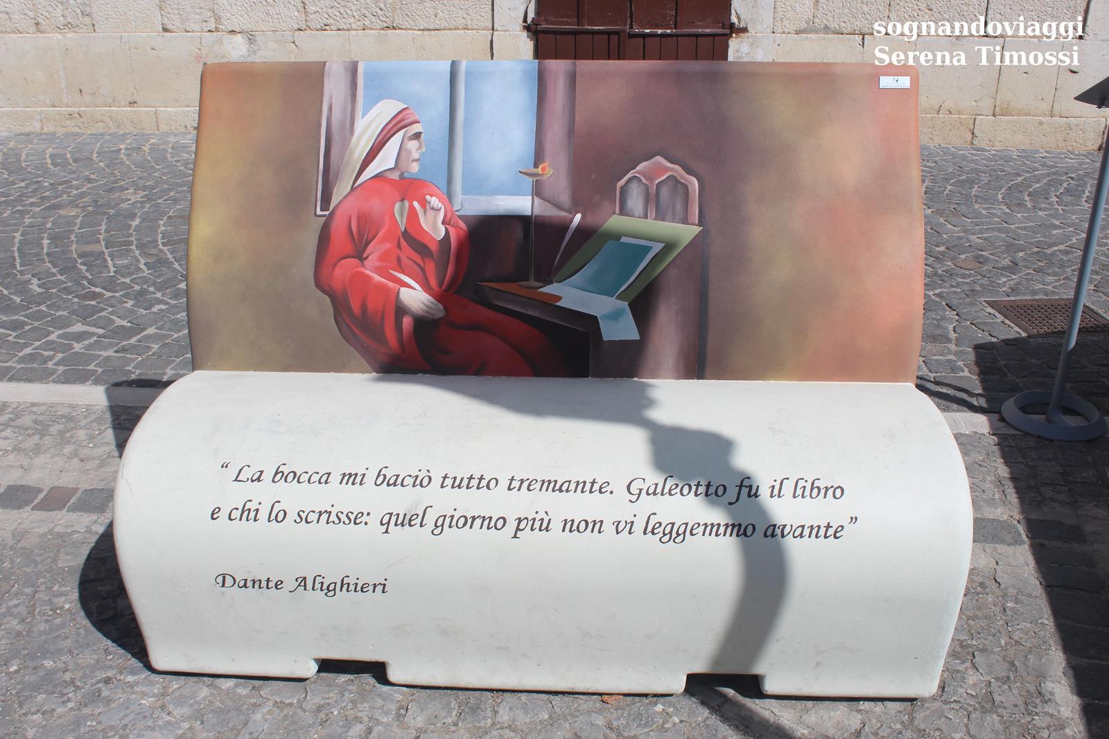 panchina Dante Macchiagodena molise